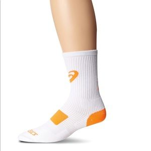 🆕ASICS Unisex Team Tiger Crew Socks 2 Pairs